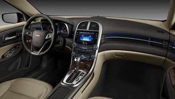 2016 Chevrolet Malibu - interior 2016 Chevrolet Malibu ...