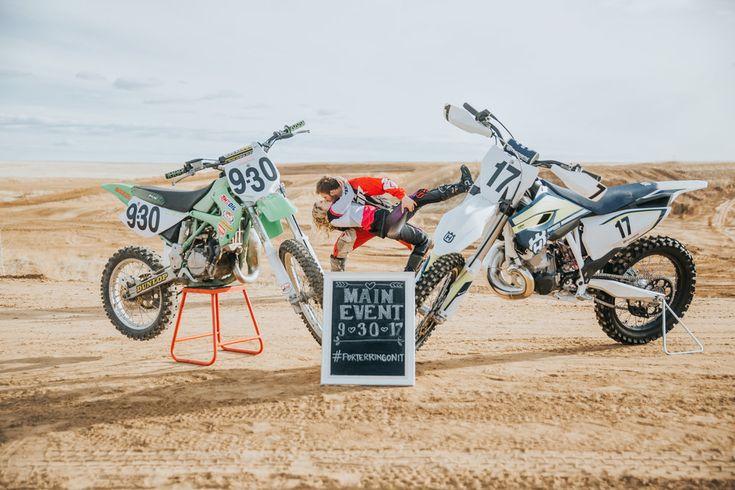 Villani Photos l Colorado Dirt Bike Engagement Session