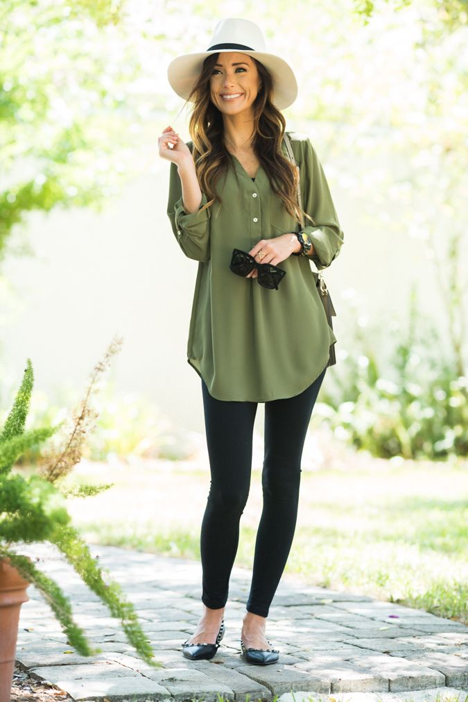 HOW TO STYLE A FALL TUNIC | Sequins and Things | Bloglovin'