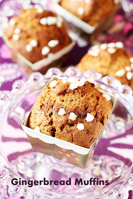 Gingerbread and Muffins on Pinterest