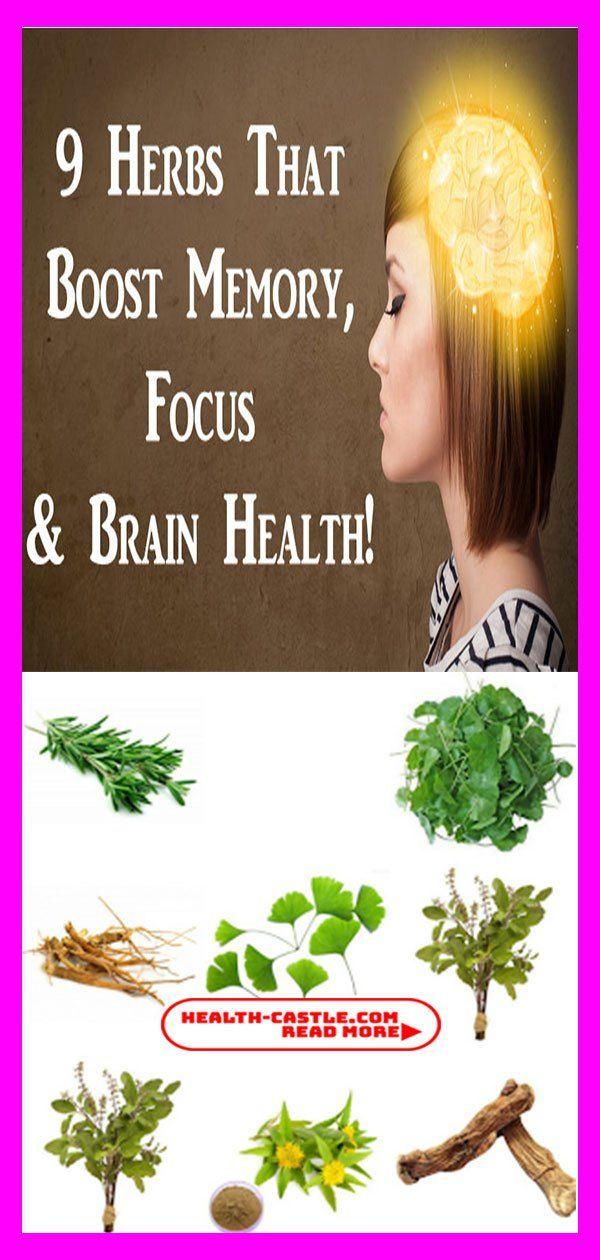 9 Herbs That Boost Memory, Focus & Brain Health! | Health