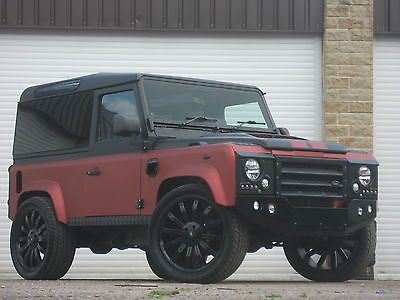 #LandRover Defender RDX Td5 90 Station Wagon. Only thing I would change is that I wouldn't have had it lowered