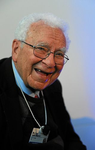 """Murray Gell-Mann (1929), American physicist. """"for his contributions and…"""