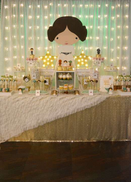 Beautiful Star Wars Baby Shower Party Ideas