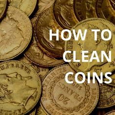 How to clean coins using Flitz. Return old coins to their original luster using these water-based cleaners. #coincollection #cleaning #flitz