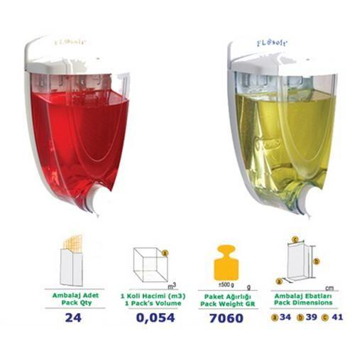 Flosoft Liquid Soap Dispenser 650 Ml