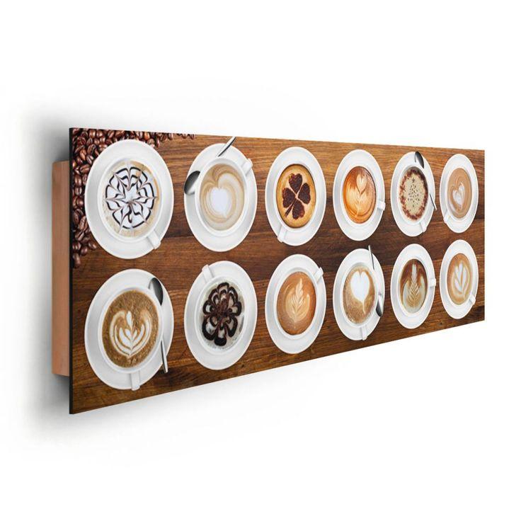 Caffè latte art zum Verkauf online.Deco Panel 30x90 kaffee kunst