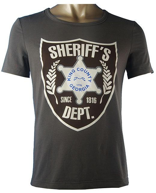 Oasis Costume The Walking Dead Rick Grimes cosplay costume Sheriff Rick Grimes t-shirt.