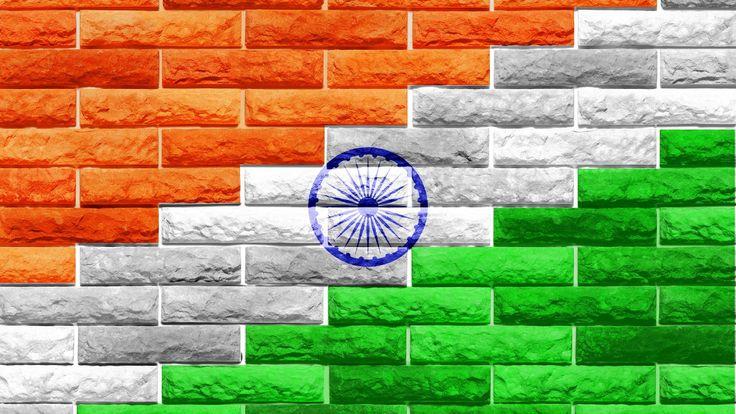 Indian Flag Bricks