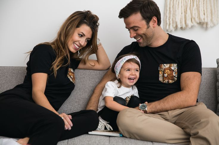 TVTM www.tvtmvirginie.com Family photo Poche et Fils Montreal Team lion Black shirt toddler Fashion Kids Fashion Family