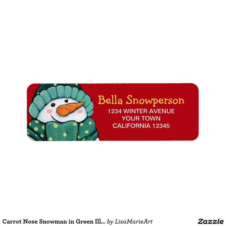 seasonal address labels