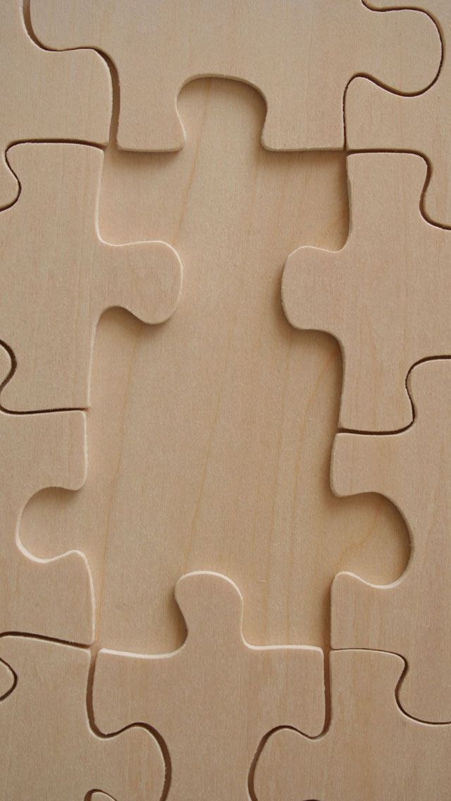 Plain puzzle pattern background - iPhone Material / Texture wallpapers @mobile9
