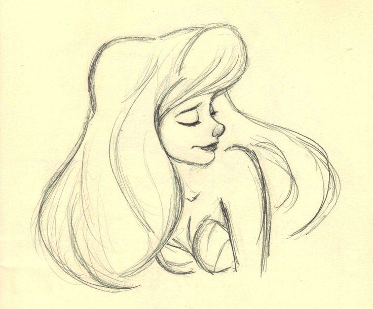 Ariel (c) Glen Keane and Disney