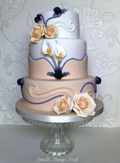 Scottish Wedding Cake | Great Cake Art