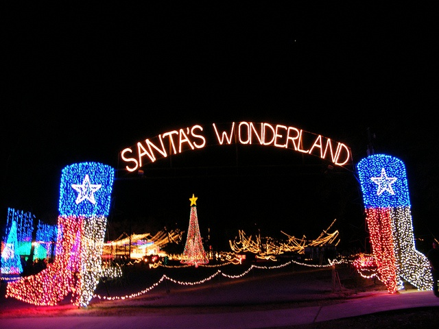 Santa's Wonderland in College Station, Texas   Maybe I can sneak back up here during break for this (;