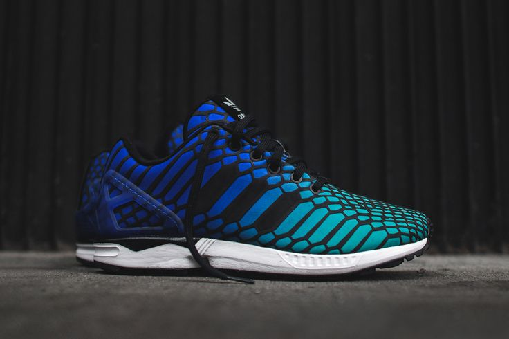Adidas Flux Blue And Green