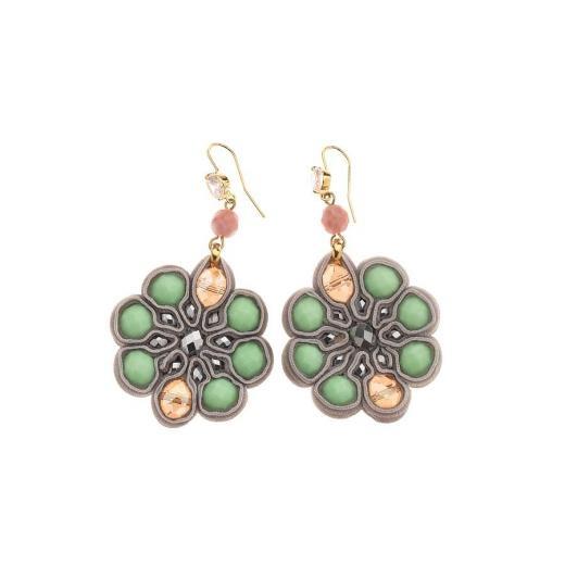 Ottaviani bijoux,ORECCHINI CON PIETRE E CRISTALLI