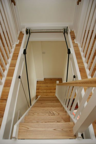 17 best ideas about attic lift on pinterest garage lift Motorized attic stairs