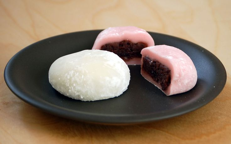 Daifuku (大福) is a Japanese rice cake eaten year round in many Asian countries. Daifuku's outer later is made of Mochi (餅) which is made by cooking glutinous rice and leaving it to soak overnight, the next day the process of Mochitsuki begins.