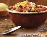 Фото к рецепту: Овощное рагу с фасолью и кукурузой