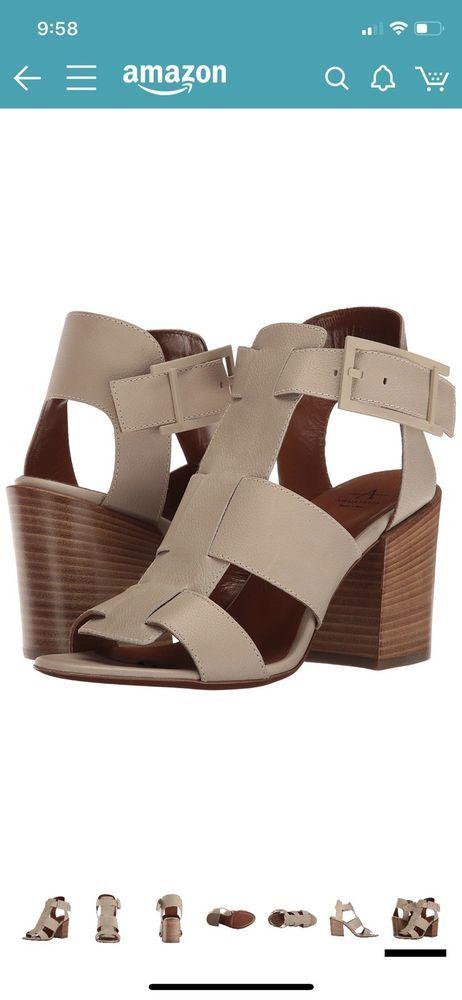 83b1fe37bc2c NIB  495 Aquatalia Freesia Grainy Calf Caged Sandal 8.5  fashion  clothing   shoes