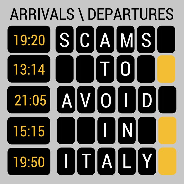http://www.thetechgypsy.com/8-scams-to-avoid-as-a-tourist-in-italy/ #italy #travel #wanderlust #explore #travelblog #europe