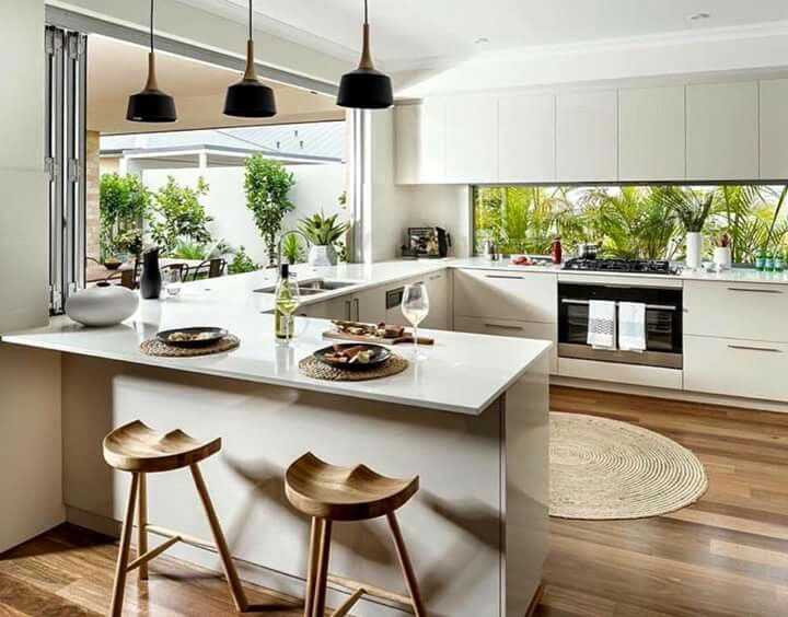 Credenza trompe l'oeil // blog.interieuressentiel.com // # dekoration # küche # interieur # interieuressentiel   – Interieur Essentiel