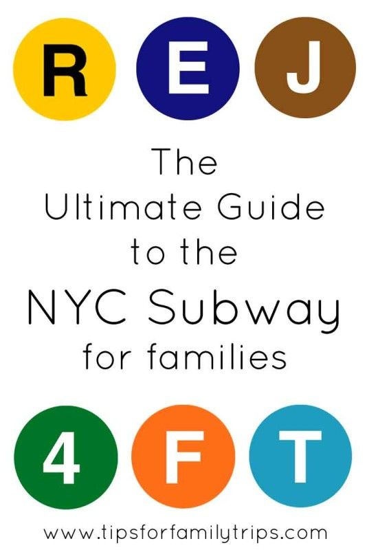 The ultimate guide to the New York City Subway for families