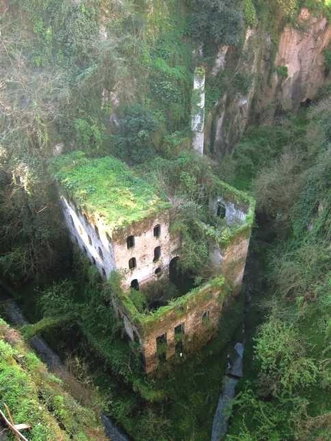 abandoned mill - Sorrento, Italy