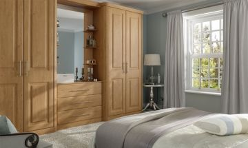 Traditional Oak Bedroom Doors - By BA Components