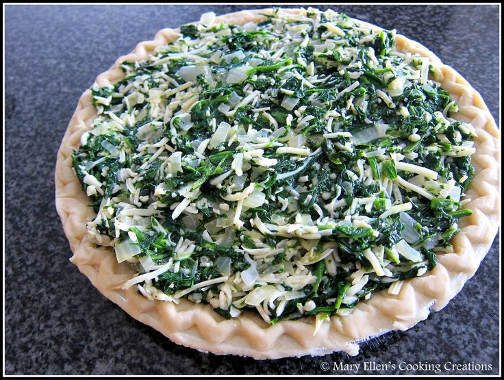 Mary Ellen's Cooking Creations: Spinach Pie - Let's Do Brunch!