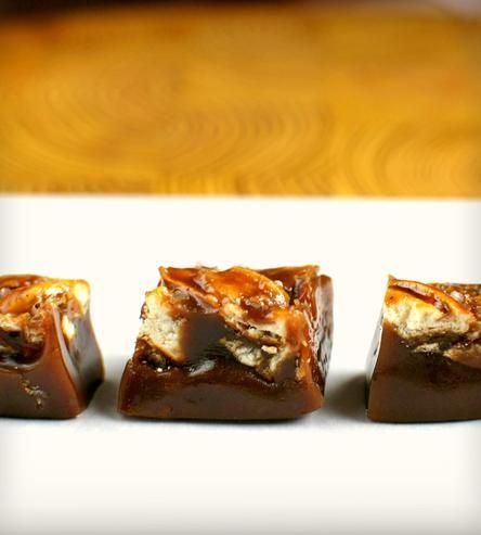 Beer pretzel caramels. Oh yes. -D