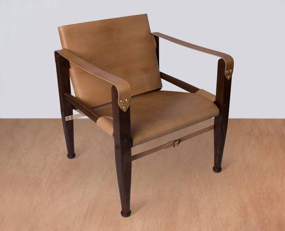 Fabulous Safari Chair Leather Chair Lounge Chair Accent Chair Etsy Best Image Libraries Counlowcountryjoecom