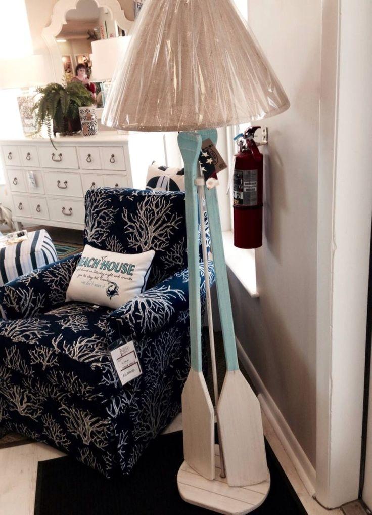 Brand-new 63 best Oar Floor Lamp Project images on Pinterest | Beach  EV44