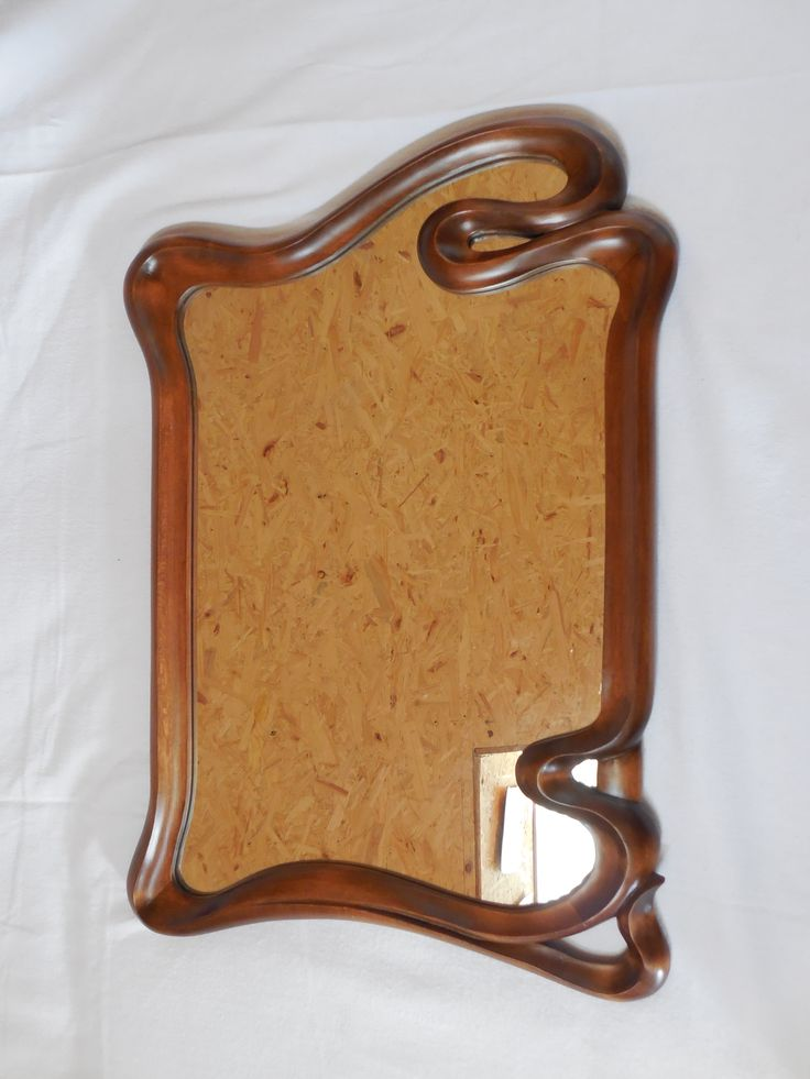 Mirror made from linden