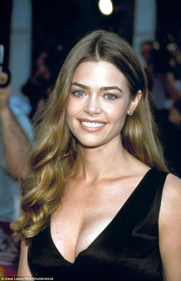 Denise Richards, pictured in 1999, when she boasted a curvier figure ...