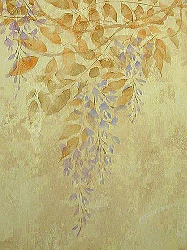 344 best Flower and Vine Stencils images on Pinterest | Wall ...