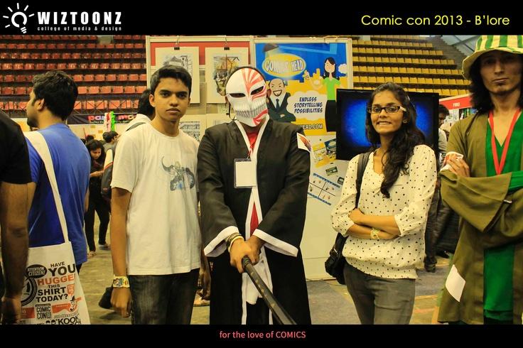 Students Visit to COMIC CON 2013 #Multimedia #Animation #Wiztoonz www.wiztoonz.com