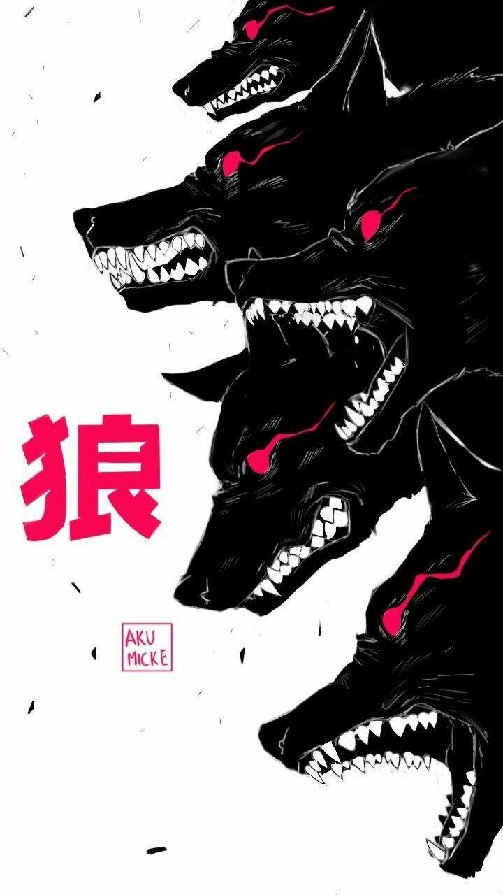 Demon Wolf Squad Character Art Art Wallpaper Art
