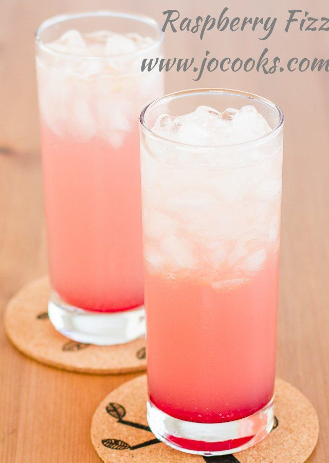 Raspberry Fizz -Better recipe is to leave out the grapefruit juice and use strawberry syrup :)