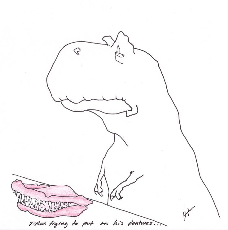 T-Rex Trying to put on his dentures…and other t-rex hilarity #TRexTrying