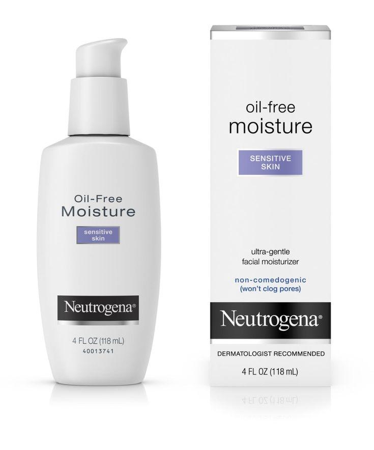 Oil-Free Face Moisturizer for Sensitive Skin, Fragrance-Free, Non-Comedogenic