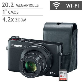 Canon Powershot G7x Digital Camera Bundle On Sale 599 At
