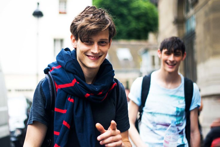 Fashion Repost: Call Off Duty: Street Style behind the Scenes with Top Male Models