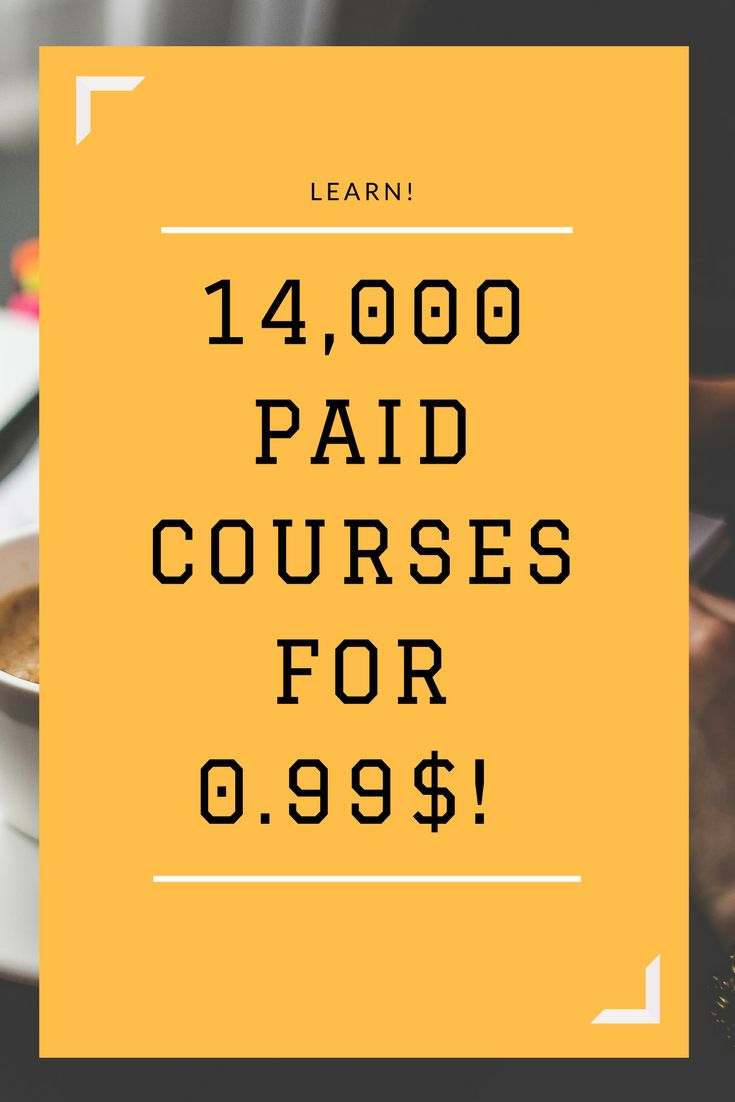 14,000 PAID COURSES FOR ONLY 0,99$!!!
