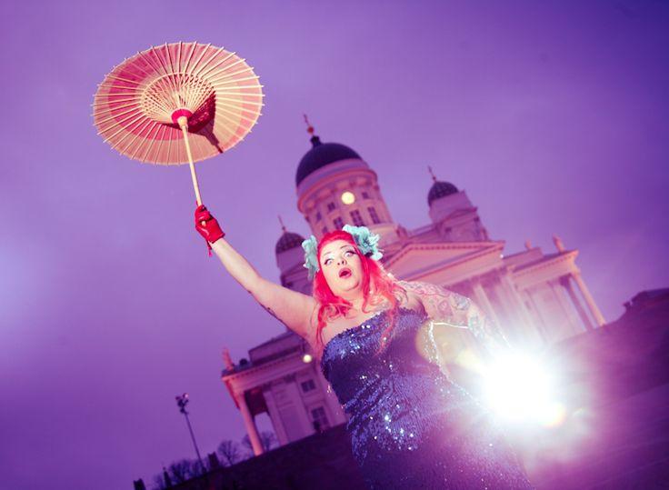 Love is in the air in Helsinki! Photo Jirina Alanko