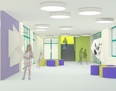 """Check out new work on my @Behance portfolio: """"  project to modernize the school canteen and hall"""" http://be.net/gallery/32777483/-project-to-modernize-the-school-canteen-and-hall"""