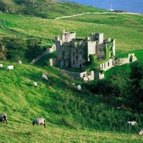 Clifden Caslte, Ireland