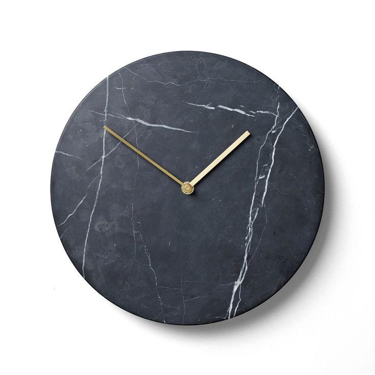 black marble clock #GrandDesignsHeals