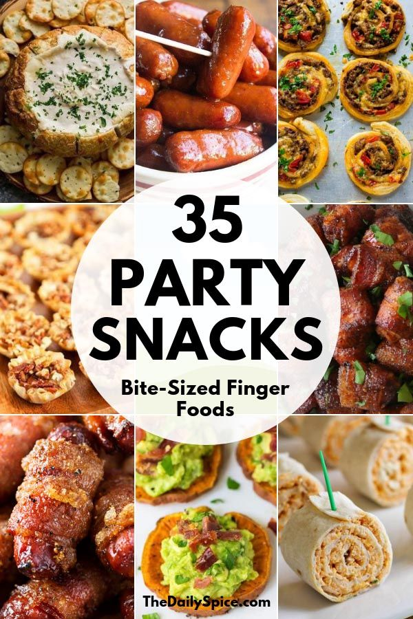 35 Perfect Party Finger Foods: Party Appetizers